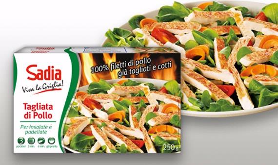 Un piatto leggero e già pronto: Tagliata di Filetti di Pollo Sadia!