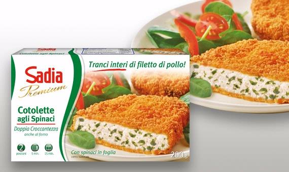 Tagliata di Pollo Sadia - 100% Tranci Interi di Filetto di Pollo, già tagliati e cotti