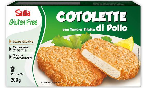 Si amplia la linea Gluten free: è ora disponibile la Cotoletta con panatura al riso e mais