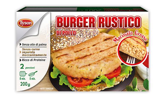 Burger Rustico