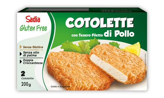 Cotoletta di Pollo - Senza Glutine e Senza Olio di Palma