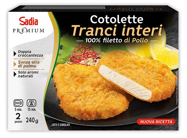 Cotolette - Linea Premium con TRANCI INTERI