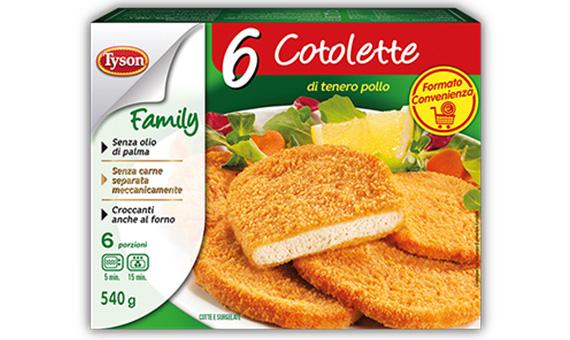 6 Cotolette - Family