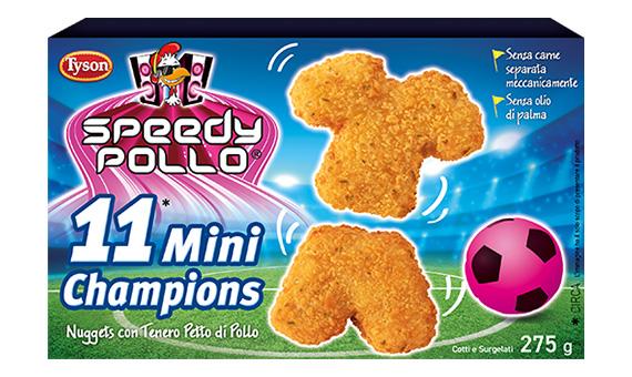 Speedy Pollo - 11 Mini Champions