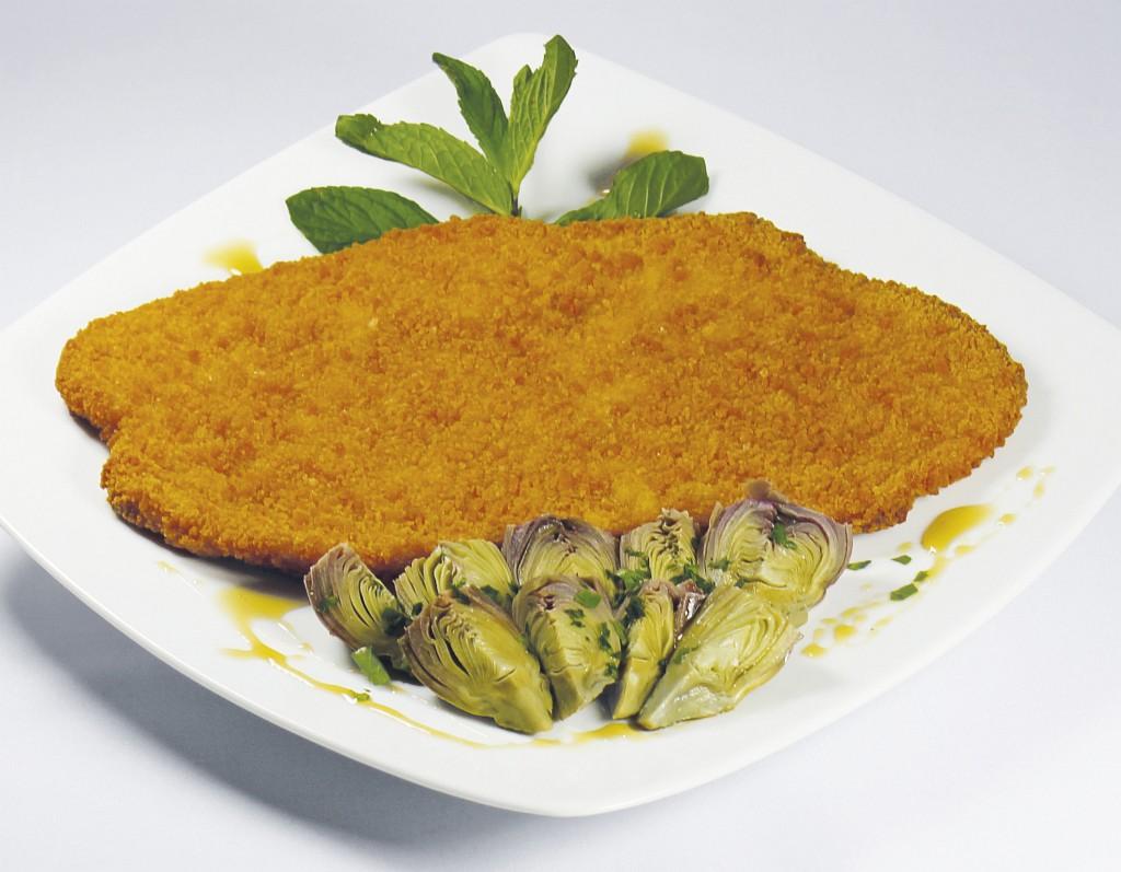 Giga Cotoletta con Carciofi