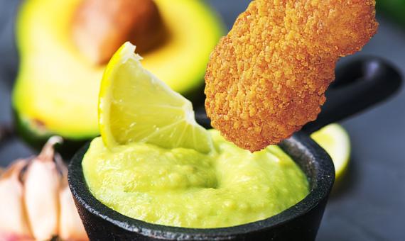 Salsa con avocado