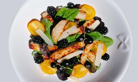 Straccetti con Frutta e Verdura
